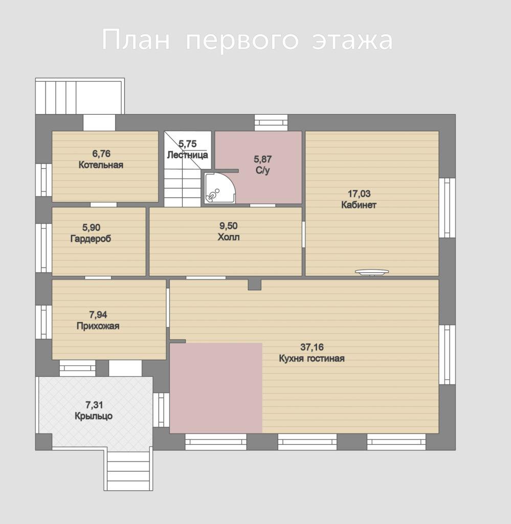 Дом в Малаховке